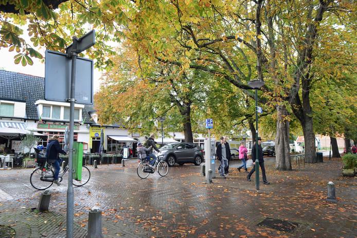 De Noordstraat in Haamstede wacht een herinrichting.