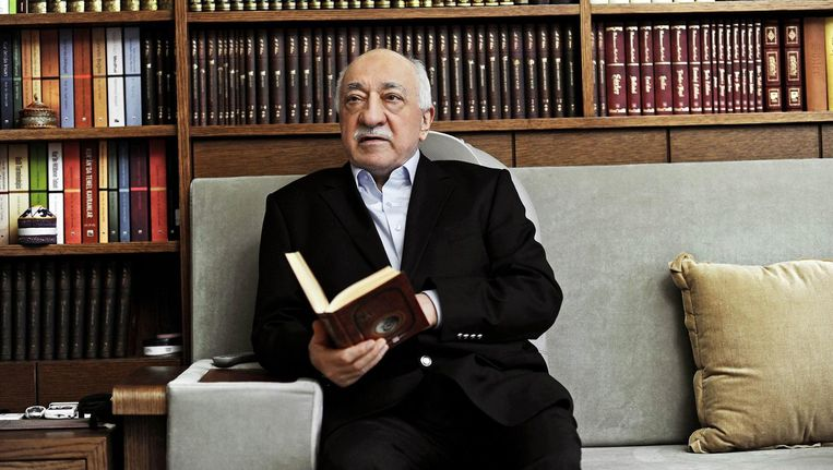 De Turkse geestelijke Fethullah Gülen.