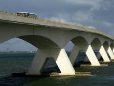 Zeelandbrug gestremd door ongeval bij Colijnsplaat