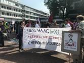 Protestmars voor schoon drinkwater in Dordrecht