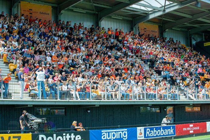 Voorlopig even geen volle tribunes bij HC Den Bosch