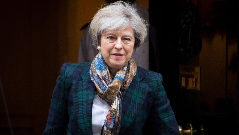 Premier Theresa May.