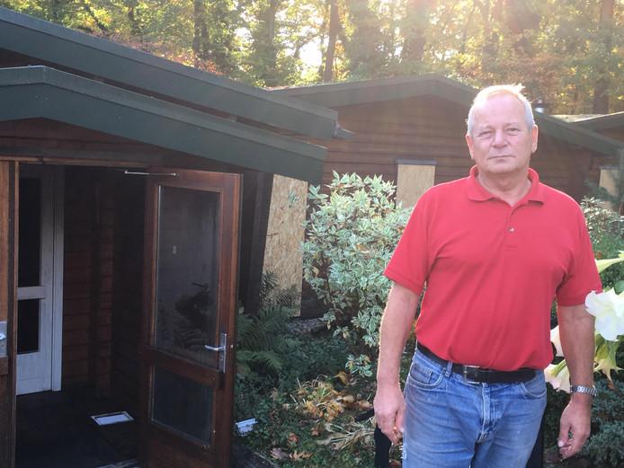 De dag na de brand in de sauna is eigenaar Bulters nog steeds beduusd.