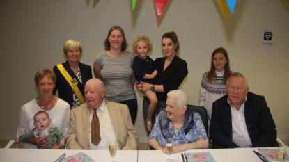 Maurits en Mathildis vieren 65ste huwelijksverjaardag