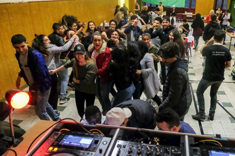 Naast workshops was er ook plaats voor een feestje.