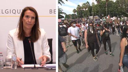 """Premier Wilmès: """"Laat ons niet op straat komen zoals in de VS"""""""