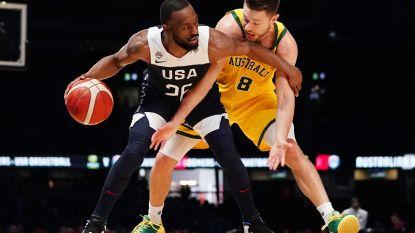 Amerikaanse nationale basketploeg met NBA-spelers lijdt eerste nederlaag in dertien jaar