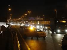 Zwolse ochtendspits extra druk na botsing met vrachtwagens op A28