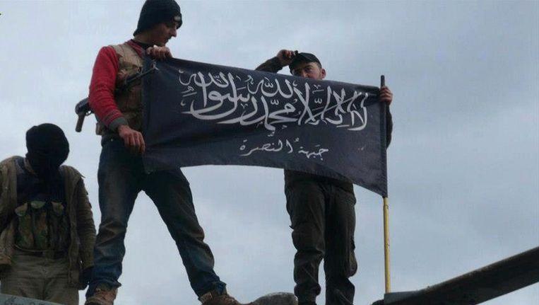 Jihadstrijders in Syrië. Beeld ap