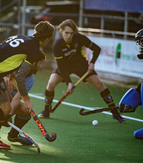 Toch promotie hockeyers DHC