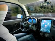 Advertenties in zelfrijdende auto's worden miljardenbusiness