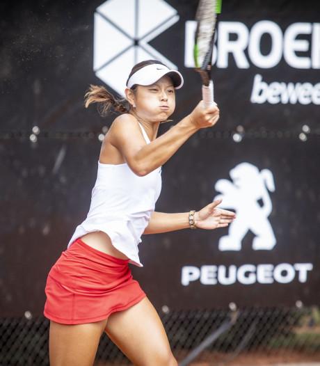 Aanstormend talent Hartono verliest finale in Oldenzaal: 'Dat hoort ook bij tennis'