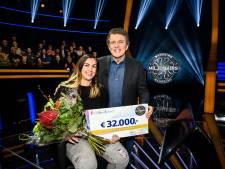 Lelystadse Riana wint 32 mille in tv-show BankGiro Miljonairs