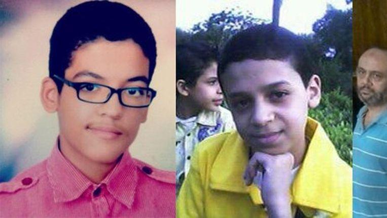 Drie personen die voorkomen in het rapport van Amnesty omdat ze spoorloos verdwenen. Beeld null