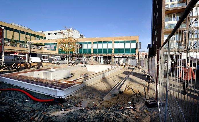 Herinrichting Nieuwe Markt in Roosendaal