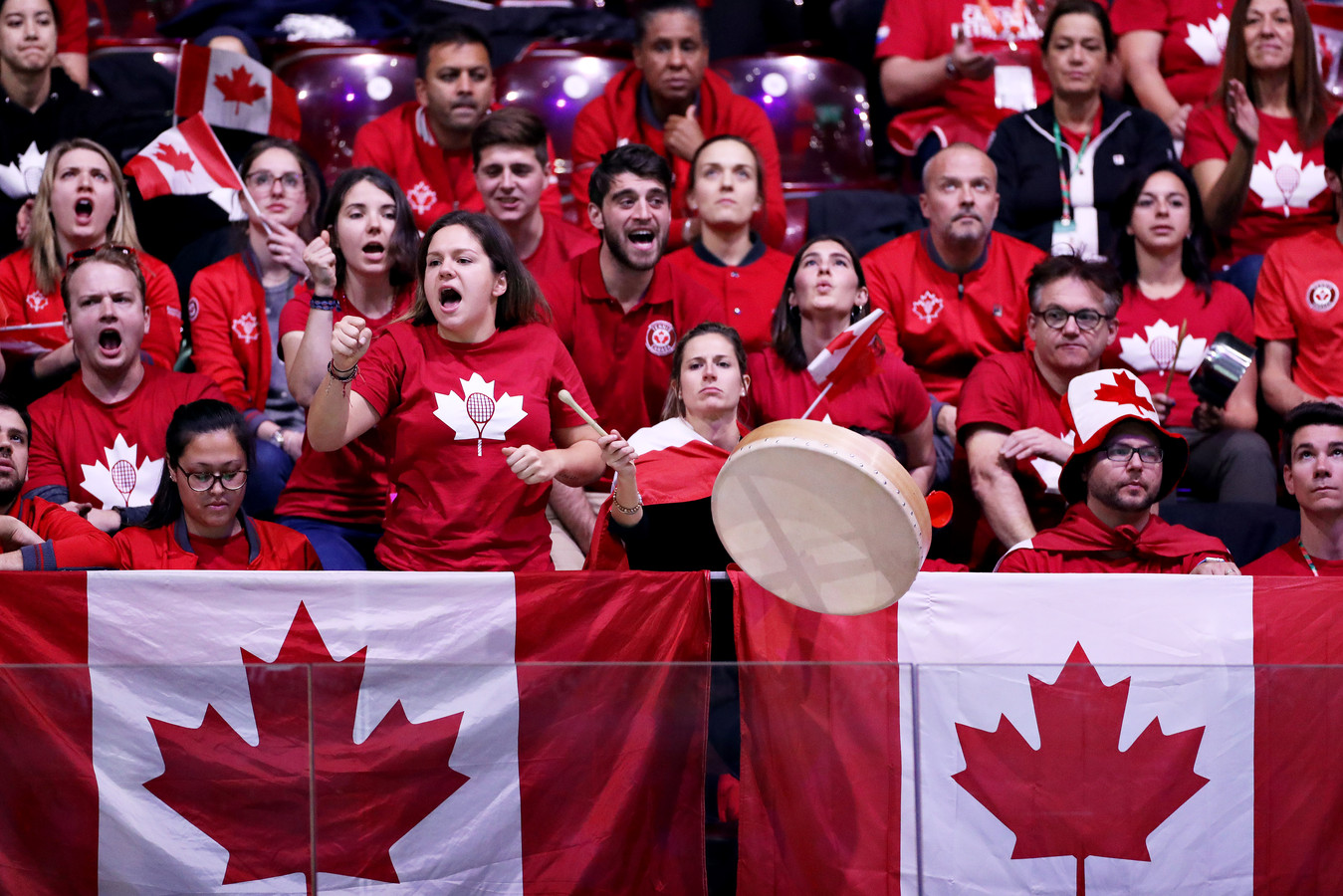 Fans van Canada.