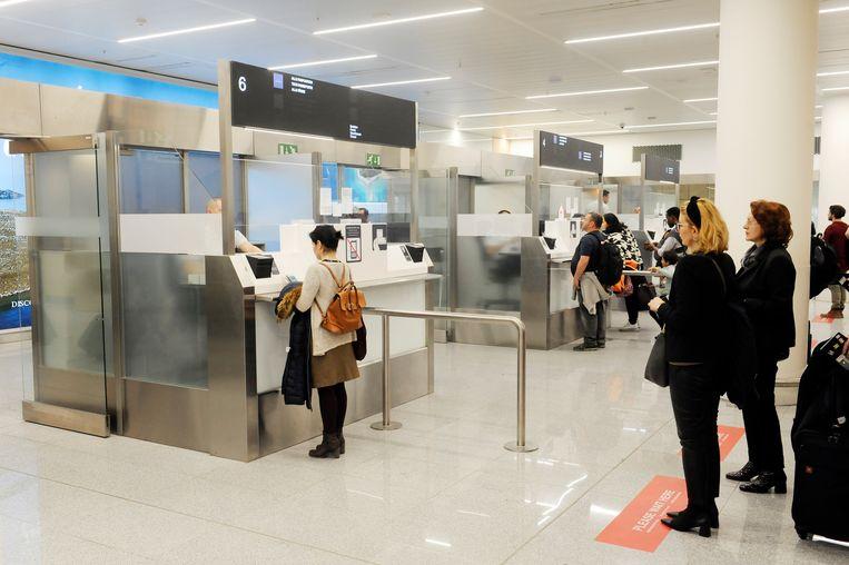 De stiptheidsacties waren vooral te voelen aan de paspoortcontroles, waar passagiers voor buiten de Schengenzone langer moesten aanschuiven.