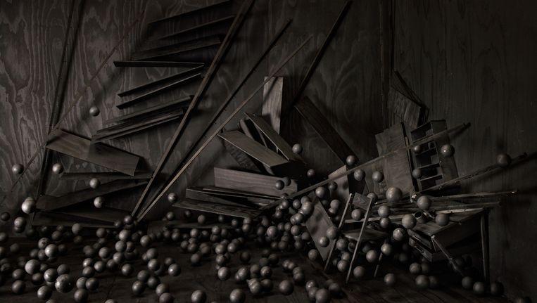 Levi van Veluw: Spheres, 2014 (foto). Beeld -