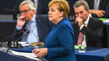Speechte Angela Merkel voor het laatst de sterren van de hemel in Straatsburg?