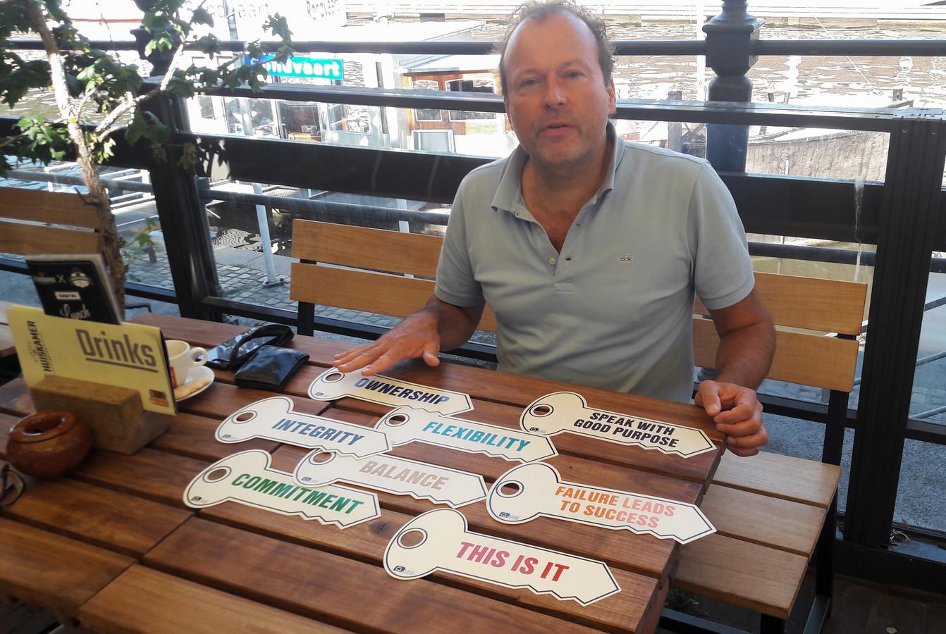 Paul Bartels, docent Ondernemerschap aan de Avans Hogeschool in Breda.