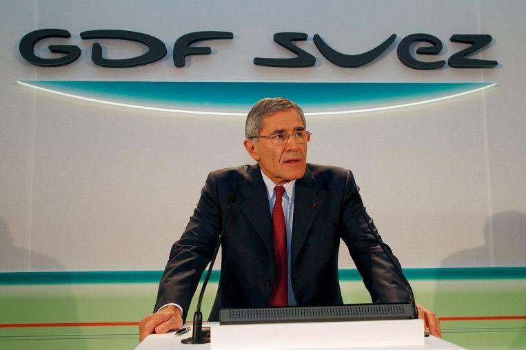 GDF Suez-topman Gérard Mestrallet in 2011. Beeld Reuters
