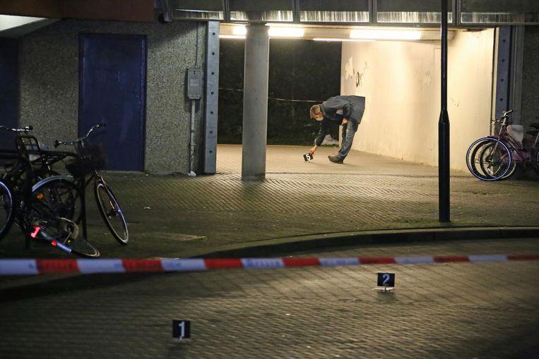 Een onbekende schiet Abderrahim 'Appie' Belhadj (29) dood in Bijlmerflat Kikkenstein Beeld anp