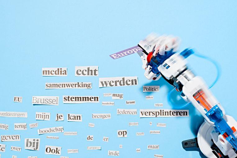 Vooralsnog kan schrijfsoftware enkel eenvoudige en sterk gestructureerde berichten opstellen. Beeld Rein Janssen