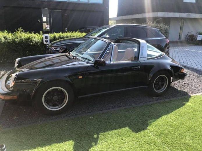 De Porsche in kwestie