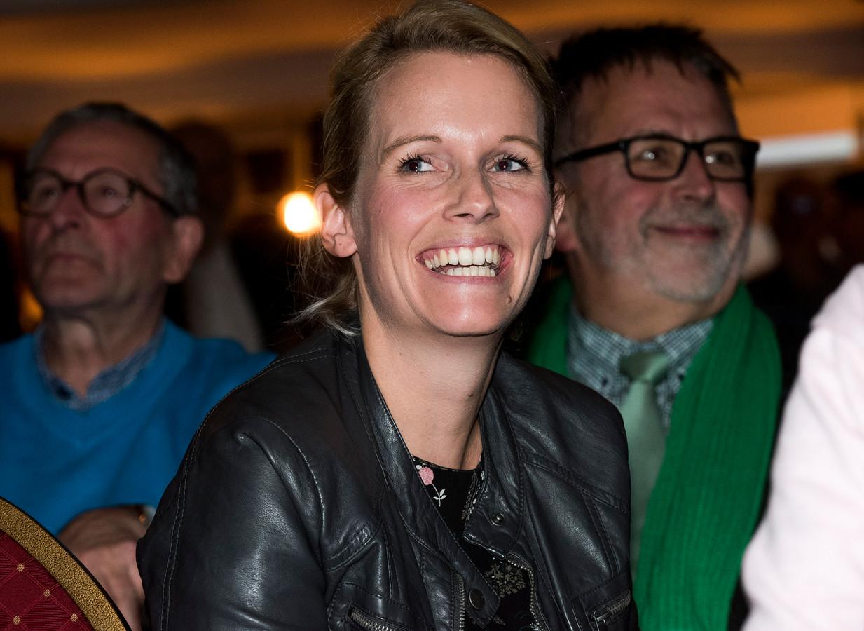 CDA-lijsttrekker Maria de Jong.