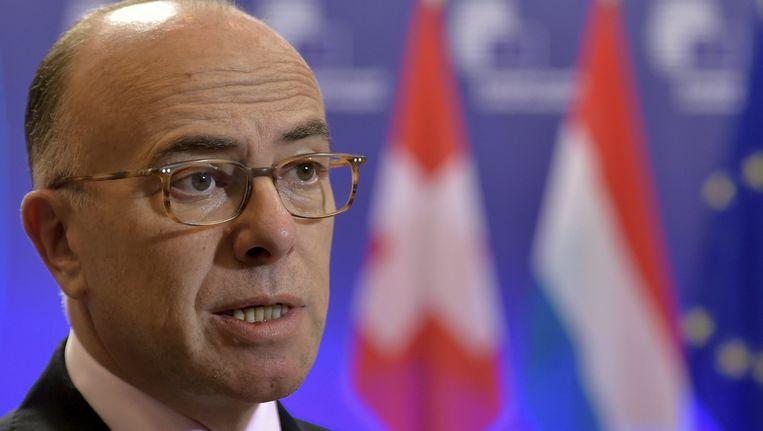 Minister Bernard Cazeneuve Beeld reuters