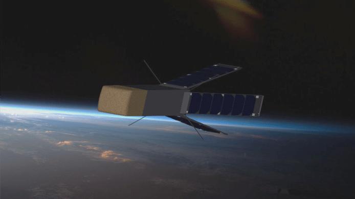 Le nano-satellite QARMAN mesure 38 centimètres de long pour un peu plus de 5 kg