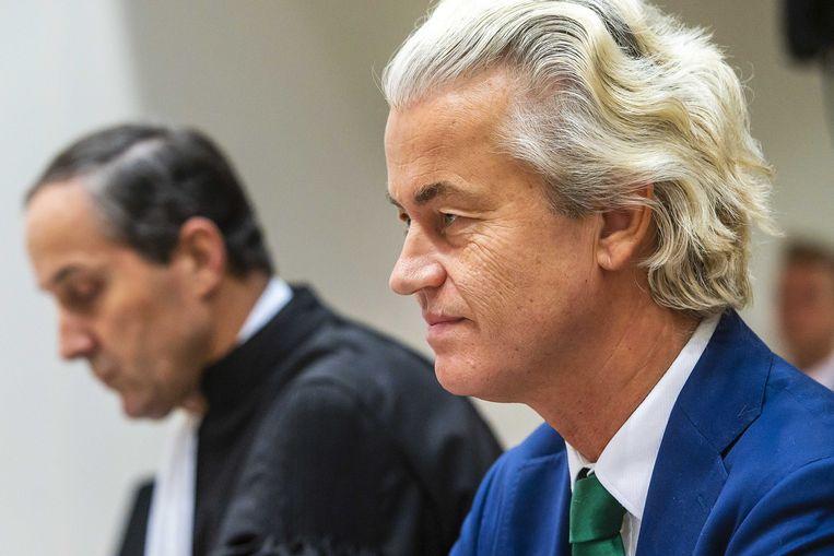 Geert Wilders, leider van de Nederlandse partij PVV.
