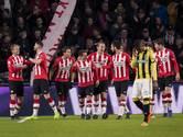 PSV dankzij Siem de Jong zonder franje voorbij Vitesse