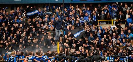 'Fans van ADO en Willem II zorgen voor problemen in stadion Club Brugge'