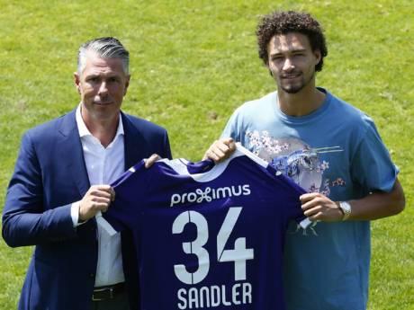 Philippe Sandler à Anderlecht, c'est officiel