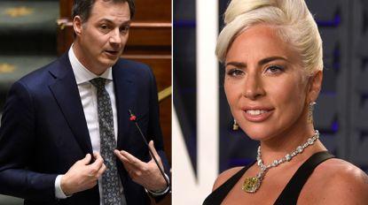 Na Angèle wordt ook Alexander De Croo opgepikt voor tv-festival van Lady Gaga