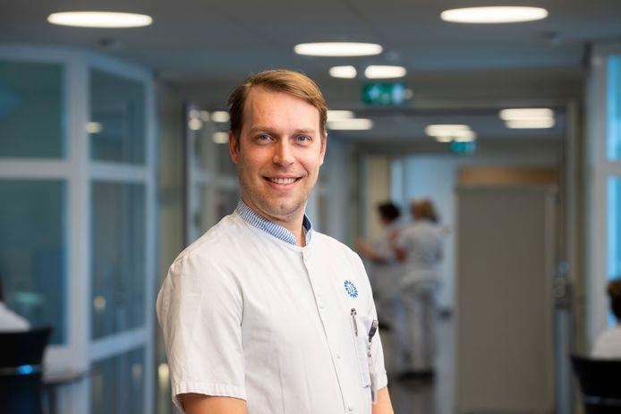 Bart Timmermans, IC-manager in het UMC Utrecht