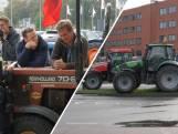 Boze boeren willen niet weg bij Provinciehuis