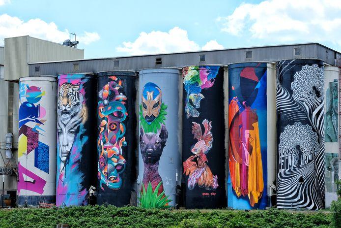 Streetart in Den Bosch.