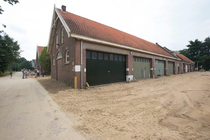 De historische stal op de Mauritskazerne in Ede die volgens plan een woonfunctie krijgt.