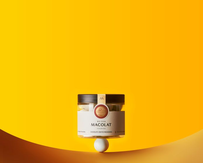"""Chocolats saveur """"Yoghurt"""" Maison Macolat - 18,50€"""