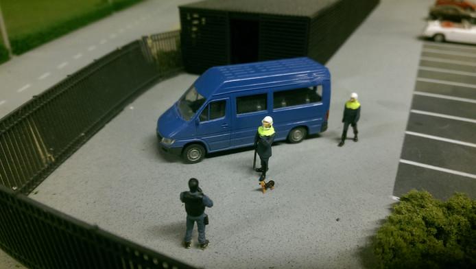 De miniatuurversie van Bumper is vanaf deze week te zien in Miniworld.
