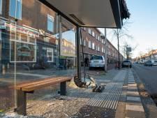 Automobiliste rijdt bushokje aan diggelen in Rivierenwijk