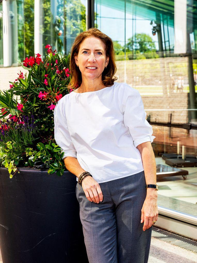 Emilie Gordenker (54) is directeur van het Van Gogh Museum.  Beeld Marie Wanders