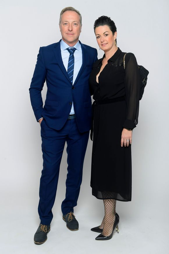 Jo Planckaert en partner Karolien Blomme