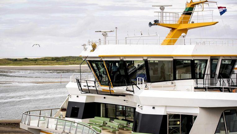 Veerboot bij Texel. Beeld anp