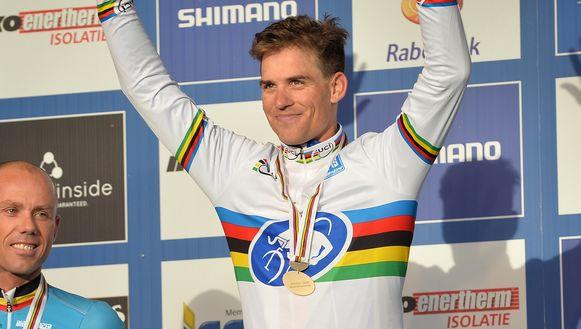 Stybar kroonde zich in 2014 nog tot wereldkampioen in Hoogerheide.