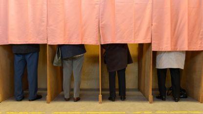 Verkiezingsdag houdt het zo goed als droog