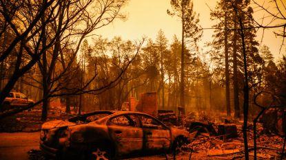 Aantal slachtoffers bosbranden in Californië loopt op tot vijftig