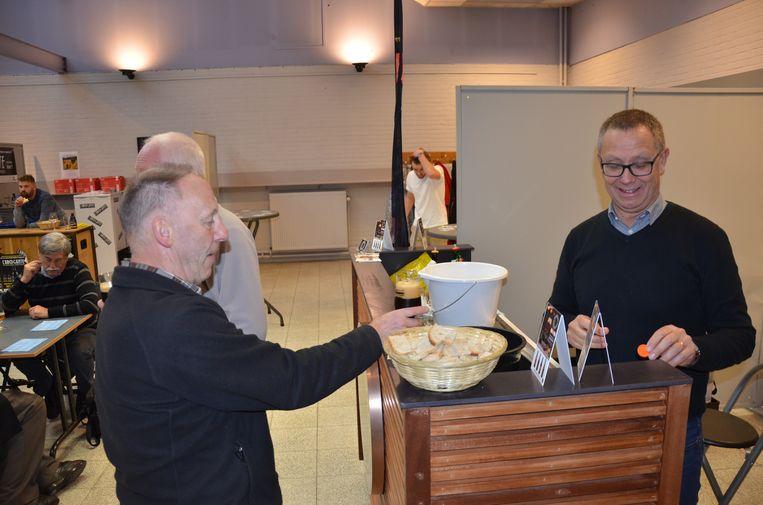 Ook brouwerij De Meester uit Harelbeke was aanwezig op het culinair bierfestival.